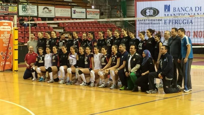 Gecom Security Perugia - Nazionale Algeria volley
