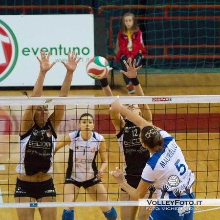 Serie B1-Girone C - Gecom Security Perugia-Stampiitalia Casette d' Ete 3-0