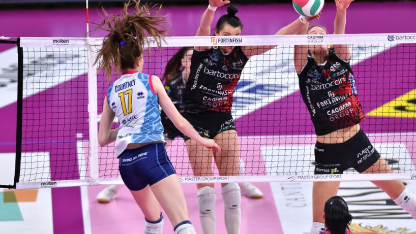 Foto Maurizio Lollini / Ufficio Stampa Bartoccini Fortinfissi Perugia